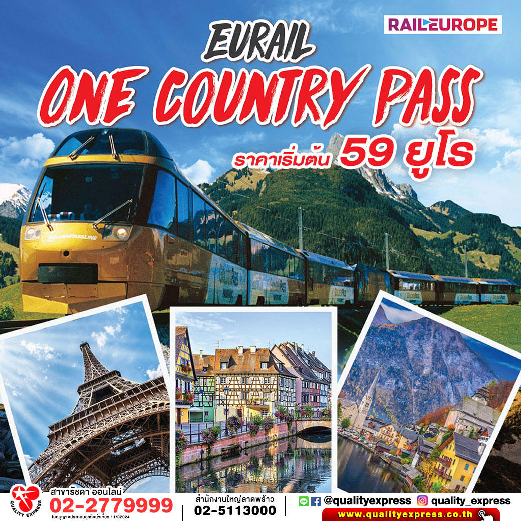 Eurail One Country Pass